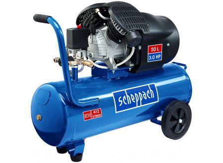 Scheppach Druckluft Kompressor HC53dc 2 Zylinder 250 l/min Abgabeleistung 50 Liter Kessel