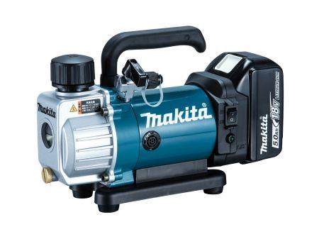 Makita Akku-Vakuumpumpe 18 V / 5,0 Ah, 1 Akku,