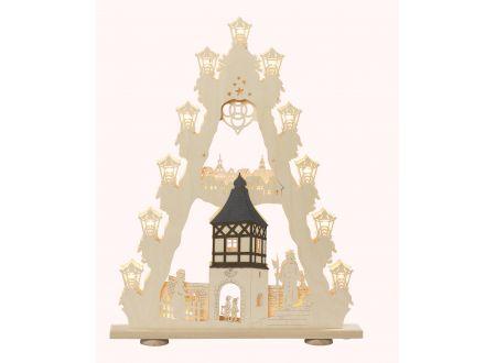 3D-Lichterspitze Motiv Burgromantik         bei handwerker-versand.de günstig kaufen
