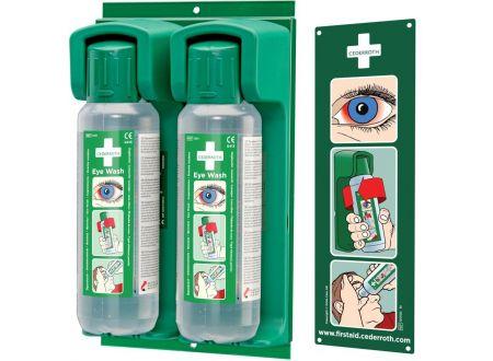 Cederroth Wandhalter f�ür 2x500 ml Augensp�lflasche bei handwerker-versand.de günstig kaufen