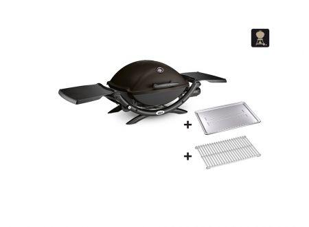 Weber Q 2200, Black mit Hitzeschild bei handwerker-versand.de günstig kaufen