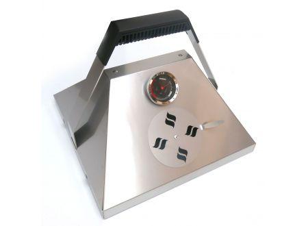 Thüros THÜROS Barbecuehaube mit Thermometer Grillfläche 30x30 cm bei handwerker-versand.de günstig kaufen