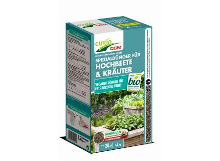Cuxin Spezialdünger für Hochbeete und Kräuter kg bei handwerker-versand.de günstig kaufen