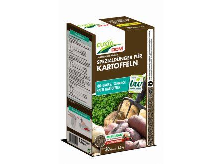 Cuxin Spezialdünger für Kartoffeln Minigran 1,5 kg bei handwerker-versand.de günstig kaufen
