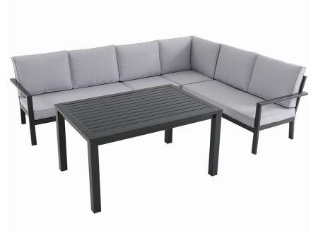 Larina Lounge 5tlg anthrazit bei handwerker-versand.de günstig kaufen