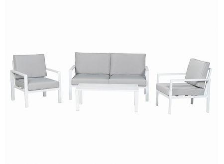 Tenea Lounge 4tlg weiß bei handwerker-versand.de günstig kaufen