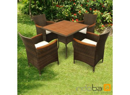 gartenm bel set 5teilig valencia kaufen. Black Bedroom Furniture Sets. Home Design Ideas