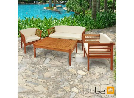 gartenm bel set 4teilig samoa gartenset kaufen. Black Bedroom Furniture Sets. Home Design Ideas