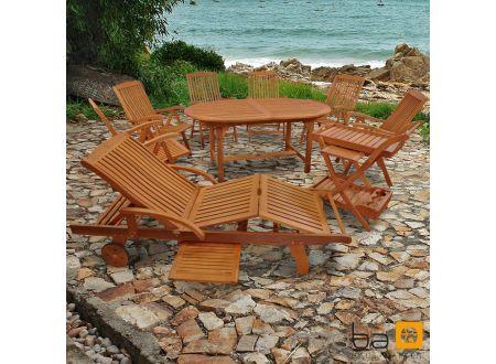 Gartenmöbel Set 9teilig Sun Flair