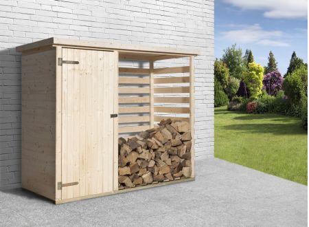 Brennholzlager 663 mit Geräteraum bei handwerker-versand.de günstig kaufen