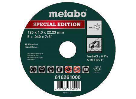 Metabo Trennscheiben Inox 125x1mm Spezial Edition bei handwerker-versand.de günstig kaufen