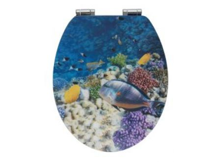 Wenko WC-Sitz Fish MDF 3D