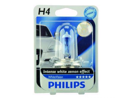 PHILIPS WhiteVision H4 Einzelblister bei handwerker-versand.de günstig kaufen