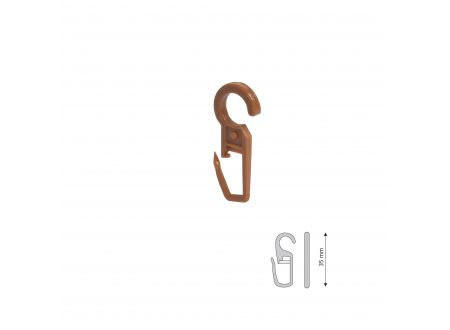 Liedeco Faltenlegehaken für Gardinenring 28 mm Stilprogramm bei handwerker-versand.de günstig kaufen