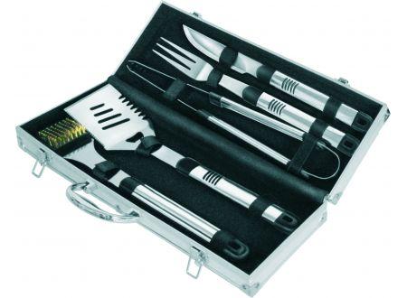Grillbesteck im Koffer Edelstahl 5-teilig bei handwerker-versand.de günstig kaufen