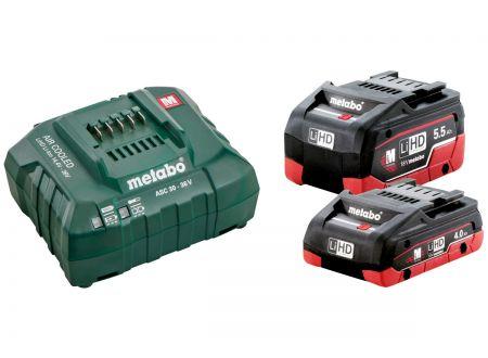 Metabo Basis Set LiHD 1x4,0 1x5,5Ah bei handwerker-versand.de günstig kaufen