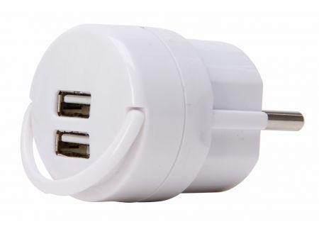 Kopp Schutzkontakt Adapter 2-fach USB bei handwerker-versand.de günstig kaufen