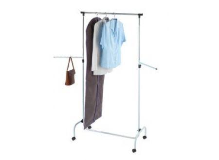 Kleiderständer weiss verstellbar fahrbar