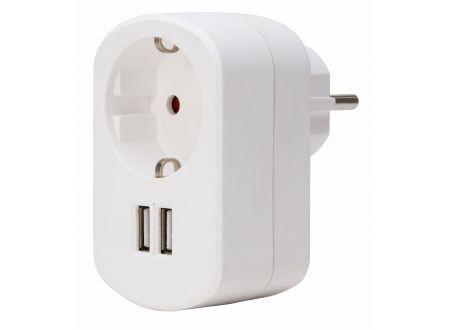Kopp Adapter 2-fach USB weiss bei handwerker-versand.de günstig kaufen