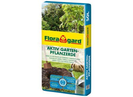 Floragard Gartenpflanzenerde Aktiv 50L bei handwerker-versand.de günstig kaufen