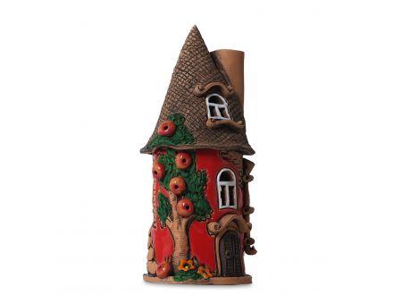 Lichthaus Apfelturm, rot bei handwerker-versand.de günstig kaufen
