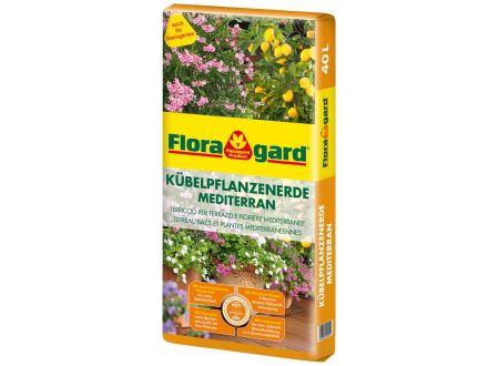 Floragard Kübelpflanzenerde Mediterran 40L bei handwerker-versand.de günstig kaufen