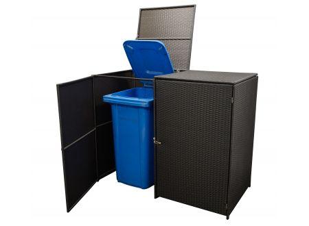 FRG Mülltonnenbox 2-er groß