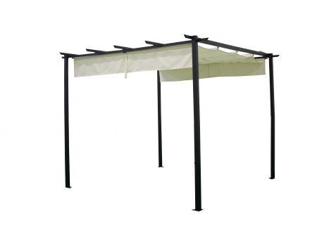 FRG Pavillon Antibes 3x3 Meter mit Schiebedach