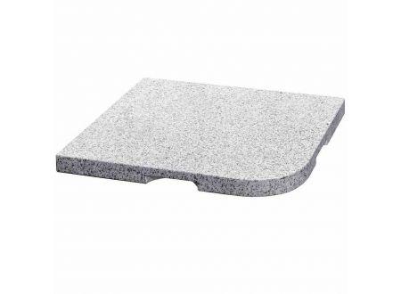 Delschen Granitplatte 25 kg, grau