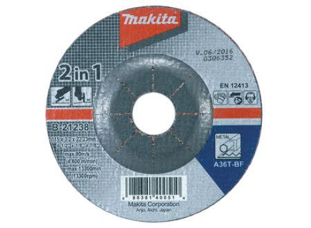 Makita Schruppscheibe2in1 125mm40 Stück. bei handwerker-versand.de günstig kaufen