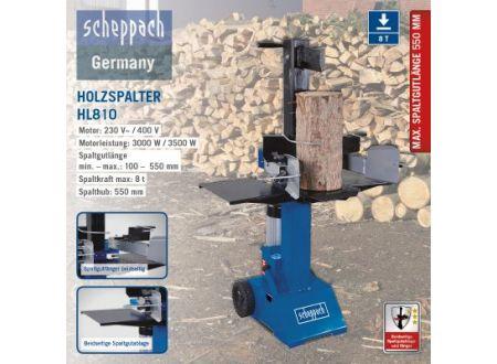 Scheppach Hydraulikspalter HL810 400V/50Hz bei handwerker-versand.de günstig kaufen