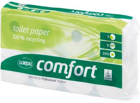 EDE Toil.papier WEPAComfort 3-lg weiss 72 Rollen