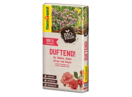 Floragard BIO DUFTEND, für Rosen, Balkon und Kübel torffrei 40L bei handwerker-versand.de günstig kaufen