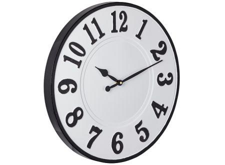 Clock Farmhouse weiß-schwarz bei handwerker-versand.de günstig kaufen