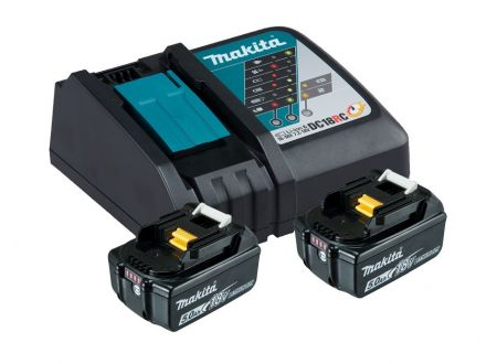 Makita Power Source Kit Li 18V 5Ah inkl. Schnellladegerät