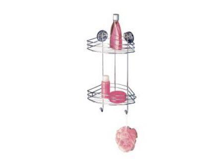 Wenko Vacuum-Loc Eckregal 2 Etagen bei handwerker-versand.de günstig kaufen