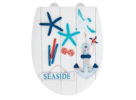 Wenko WC-Sitz Seaside Thermoplast