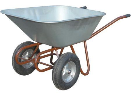 EDE Zweirad Schubkarre 150 L mit 2 Lufträdern