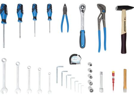 EDE Werkzeugsortiment mit Tasche 29-teilig GEDORE