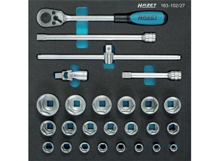 EDE Werkzeugmodul 163-102/27 Steckschlüssel HAZET