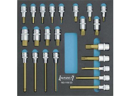 keine Angabe Werkzeugmodul 163-119/23 Steckschlüssel HAZET
