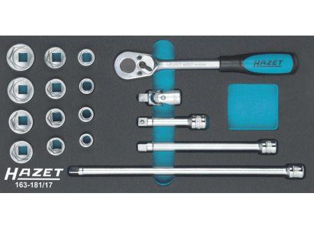 EDE Werkzeugmodul 163-181/17 Steckschlüssel 3/8 HAZET