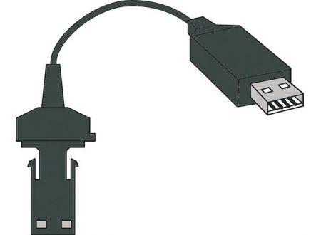 EDE Datenkabel f. USB Opto HP
