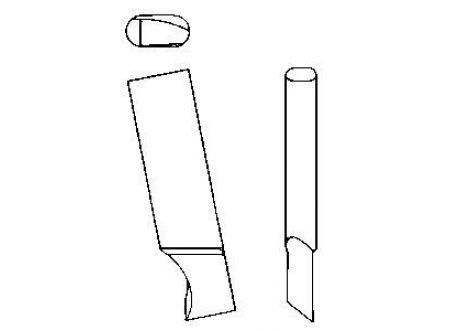 EDE Messer für KreisschneiderHM LILIPUT 122 GFS