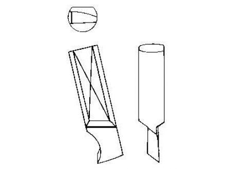 EDE Messer für KreisschneiderTiN 00 und 00A422 GFS