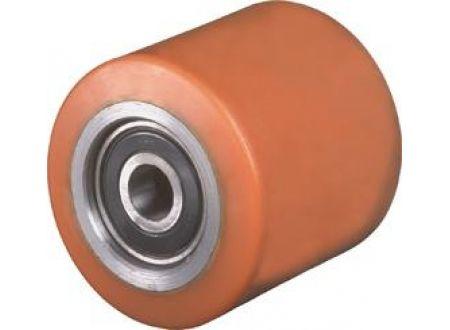 EDE Gabelrolle C40.85.20O,85/95mm,Guss-Poly,Radk.StahlKL,Tragkraft 1