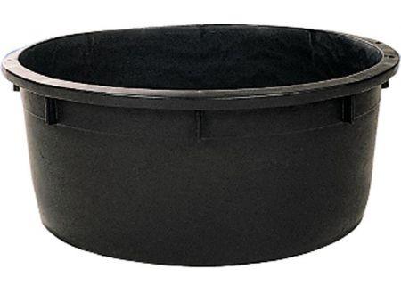 keine Angabe Spezialkübel rund, schwarz 230 L