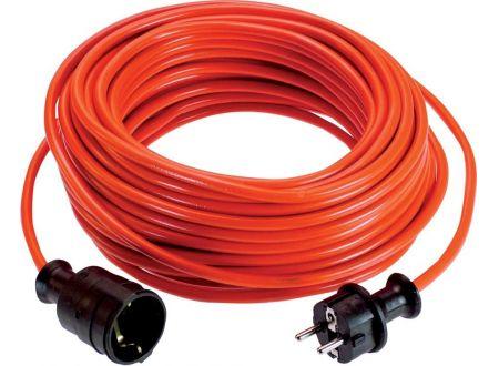 EDE PVC-Verlängerung 25 m H05VV-F 3G1,5 rot