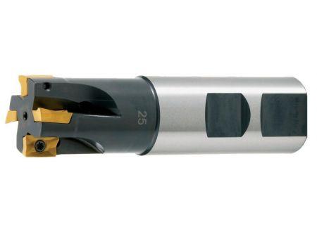 EDE Schaftfräser zyl. m. IK. D 12 x 80mm Z 1 f.APKT10