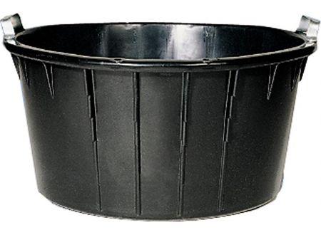 keine Angabe Spezialkübel oval, schwarz 90 L